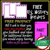 US History Borders FREE