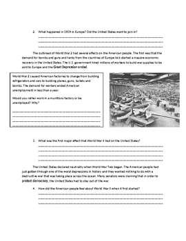 US History: Cash and Carry and Lend Lease