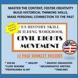 US History Civil Rights Era Skill Building Workbook
