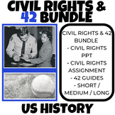 Civil Rights Activities - Black History - 42 Movie Guide - US History