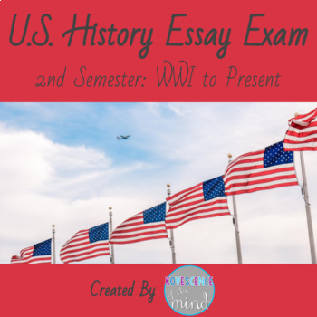 Us History Wwi To Present Nd Semester Essays By Kovescence Of The Mind Us History Wwi To Present Nd Semester Essays