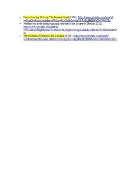US History Clip List, Progressivism - Roaring 20's (1890-1928)
