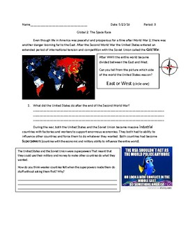 US History: Cold War Space Race