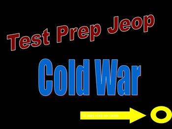 US History Cold War Test Bundle
