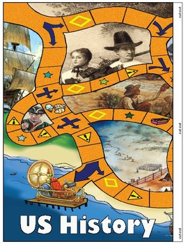 US History - Colonial Game Board