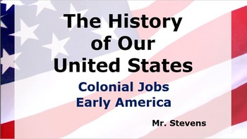 US History - Colonial Jobs