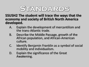 US History Colonization PowerPoint