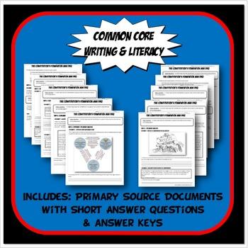 DBQ US History Document Based Question Common Core Activity Bundle