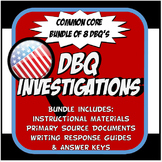 DBQ US History Document Based Question Common Core Activit
