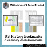 U.S. History Course Bookmarks United States Course Outline or Review