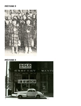 U.S. History- Create a Picture Caption- World War II Japan  In Class Activity