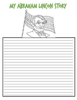 US History Creative Writing Activity Abraham Lincoln