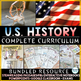 US History Curriculum | (Complete) | United States History | Distance Learning