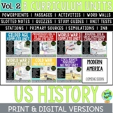 US History Curriculum Vol. 2, American History Curriculum Part 2