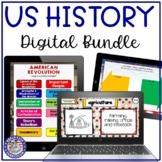US History Year Long Digital Bundle