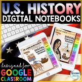 US History Digital Interactive Notebooks | US History Dist