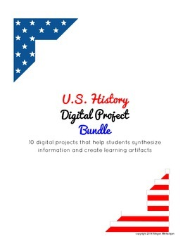 U.S. History Digital Project Bundle