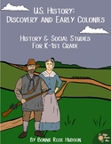 U.S. History: Discovery and Early Colonies (Plus Easel Activity)