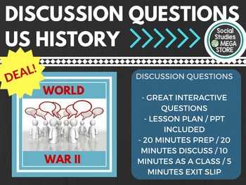 Discussion Questions World War II US History