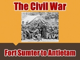 Fort Sumter to Antietam PowerPoint (U.S. History)