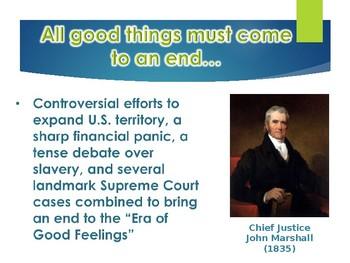 Early Republic Era Of Good Feelings PowerPoint (U.S. History)