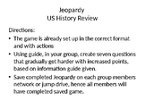 US History End of Course Review Game