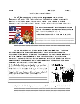 US History: End of the Cold War