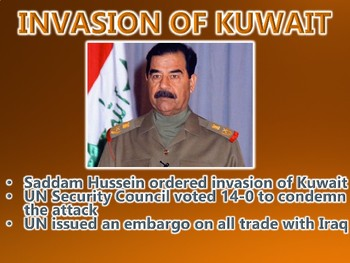 The Gulf War / End of the Cold War PowerPoint Presentation (U.S. History)