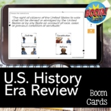 US History Era Review with BOOM CARDS for the US History STAAR