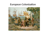 US History: European Colonization Powerpoint and Listening Guide