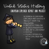 US History - European Explorers Project
