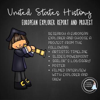 US History - European Explorers Project
