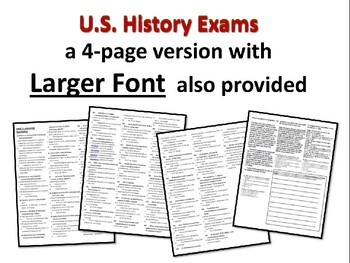 US History Exam: DIVISION/RECONSTRUCTION - 35 Test Qs w/ answers (exam 2 of 12)