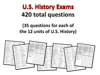 US History Exam: WORLD WAR ONE - 35 Test Questions w/ answers (exam 5 of 12)
