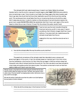US History: Expansion of the Railroads