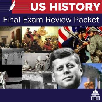 United States History Final Exam Review
