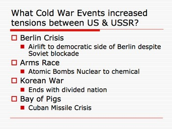 U.S. History Final Exam Review Ppt Settlement through Vietnam