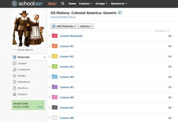 US History First 9-Weeks/3 Units  (With optional flipped lessons!)
