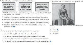 US History Florida EOC Test Review PowerPoint