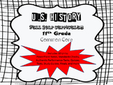US History-Full Year Curriculum 11th Grade