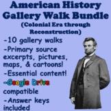 American History Gallery Walk Bundle (US History)