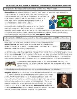US History Georgia Milestones Study Guide