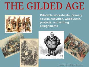 US History - Gilded Age Activity Packet