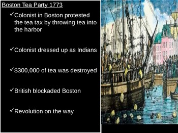 US History Goal 1 Day 2 The American Revolution