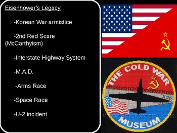 US History Goal 11 Origins of the Cold War and the Arms/Space Race.