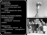 US History Goal 11 Origins of the Cold War and the Arms/Sp