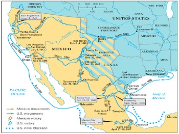 US History Goal 2 Day 2 Expansion/Slavery/Conflict in Texas