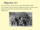 US History Goal 4 day 1 - Settling the West