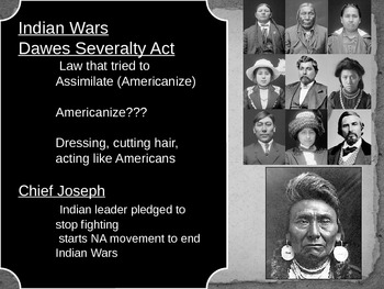 US History Goal 4 day 2- The Indian Wars