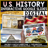 US History Google Slides | US History Distance Learning Go